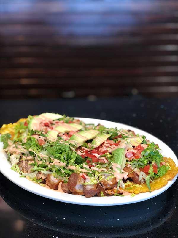 Tostada-salad